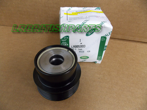 Land Rover Pulley Aux Drive Lr2 Oem New Lr005993 Ebay