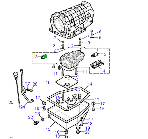 land rover solenoid automatic transmission shift range